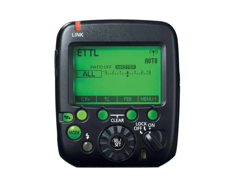 Speedlite Transmitter ST-E3-RT Back Panel