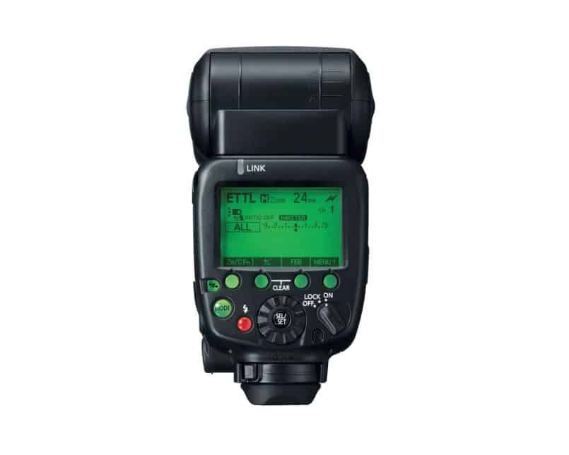 Canon Speedlite 600EX-RT Back Panel