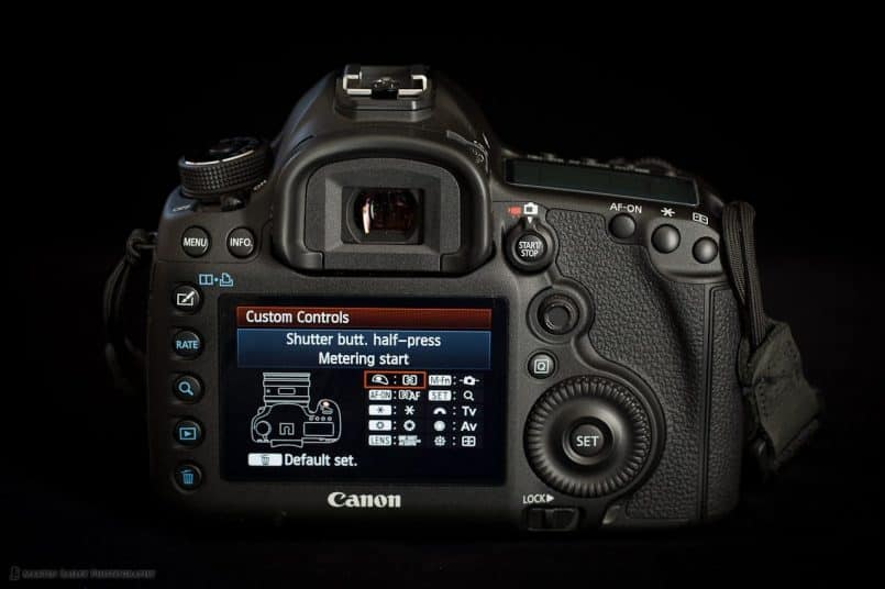 5D Mark III - Custom Controls Menu