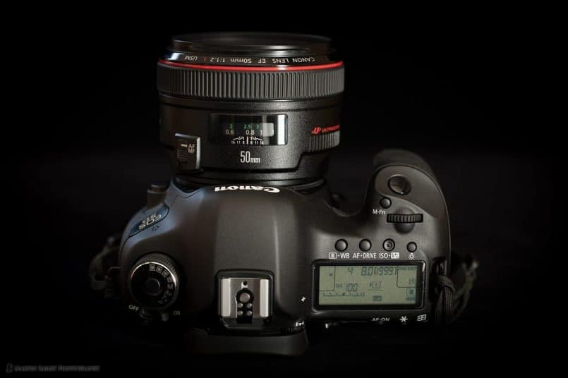 5D Mark III - Top View