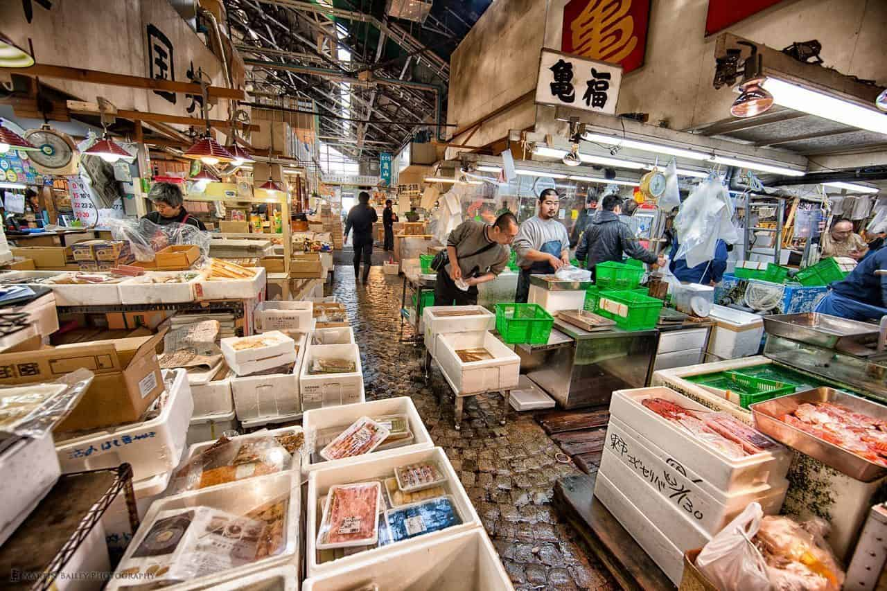 Tsukiji, the World Biggest and Busiest Market