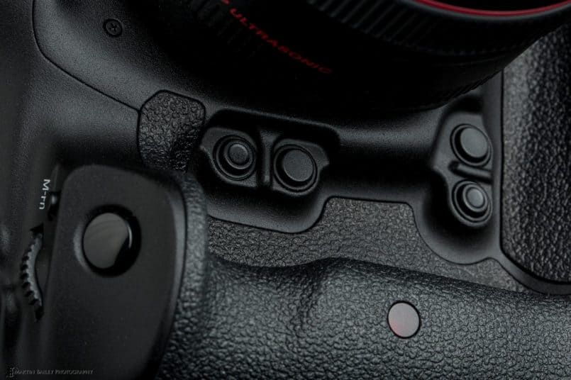 Canon EOS 1D X - Multi-function and DoF Preview buttons