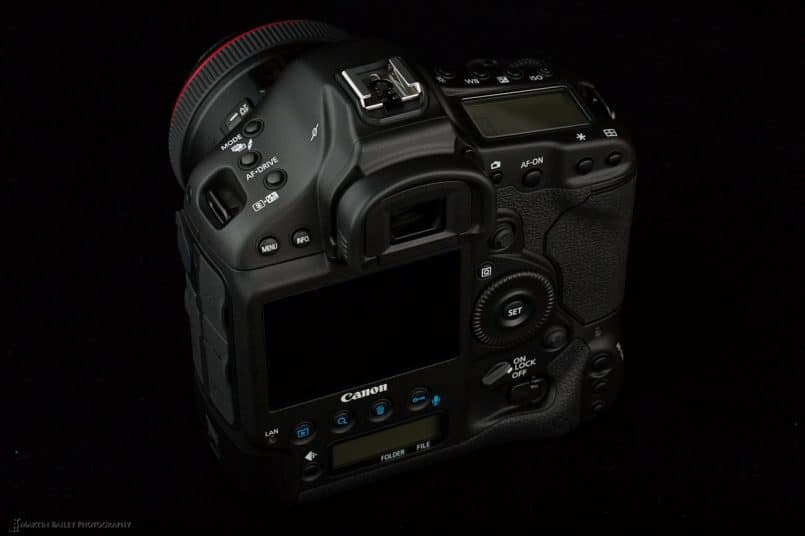 Canon EOS 1D X Back View
