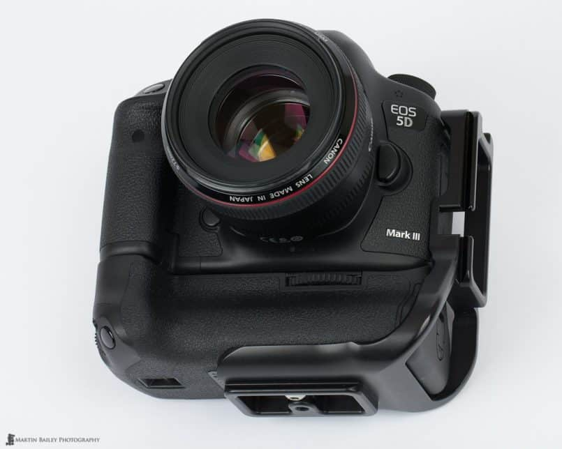 5D Mark III with BGE11-L Plate Fitted