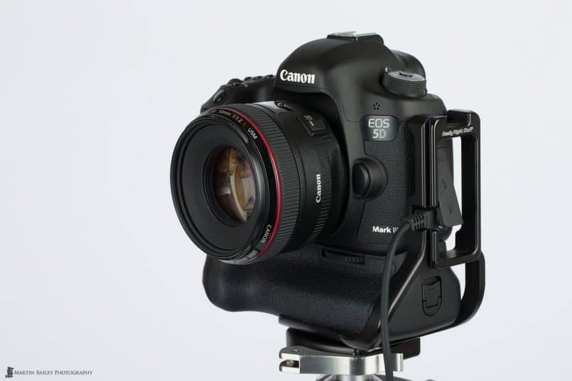 5D Mark III with L-Plate & Cable Release Fitted