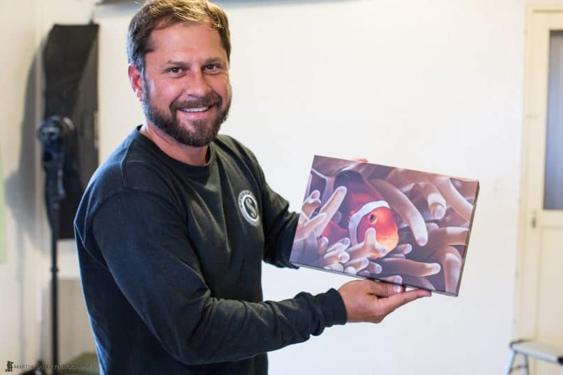 Shawn Miller with Gallery Wrap