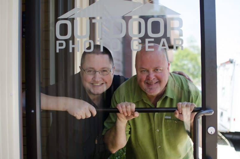 Chris & Martin at Outdoor Photo Gear
