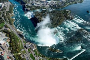 Niagara Falls from Helicopter