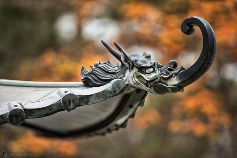 Nanzenji Dragon Gargoyle