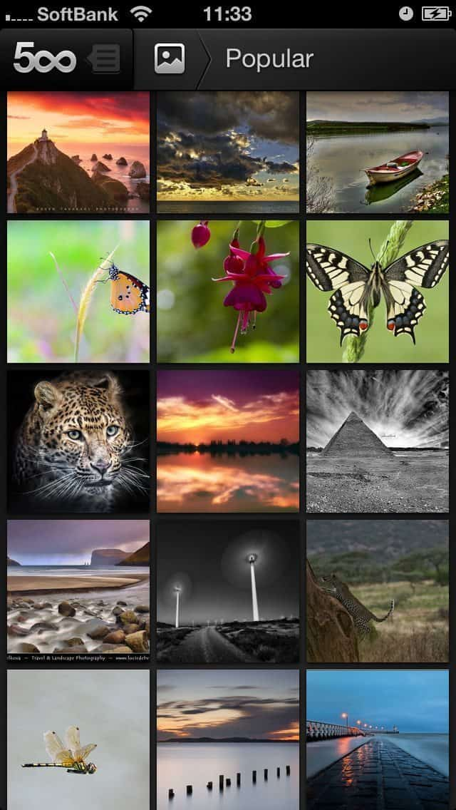 500px for iPhone Popular