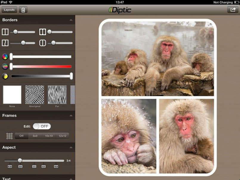 Diptic for iPad