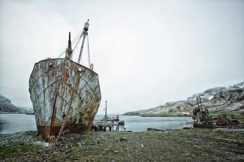 "Abandoned ""Petrel"""