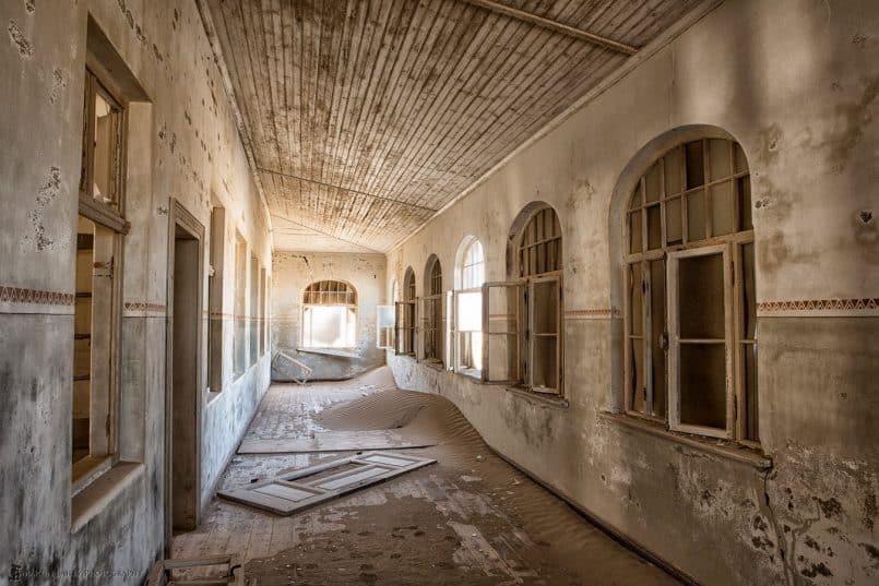 School Corridor (Kolmanskop)