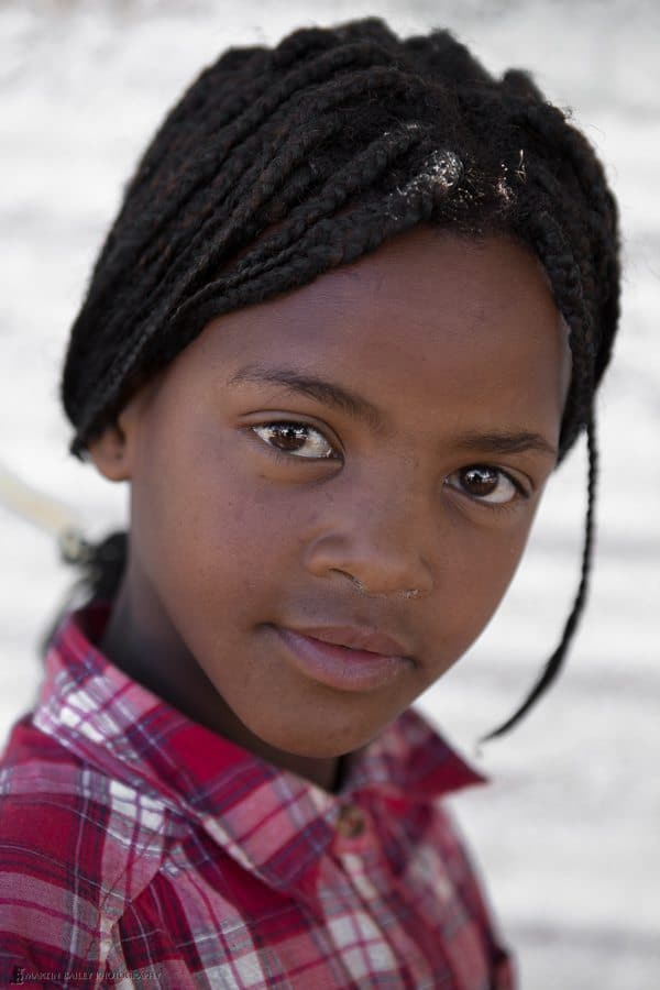 Young Namibian Girl
