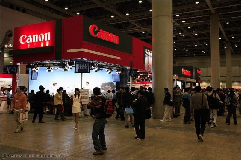 The Canon Stand