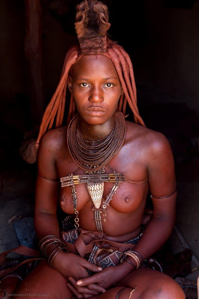 Uapahongua - Young Himba Woman