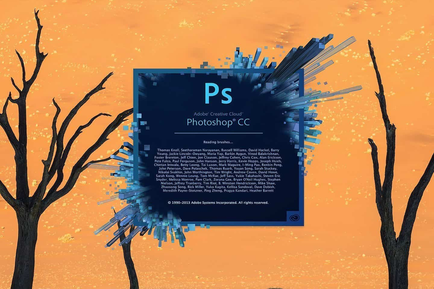 Starting Photoshop CC