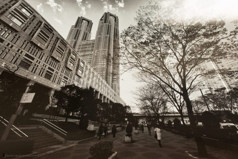 Tokyo Metropolitan Building on Vibrance Metallic