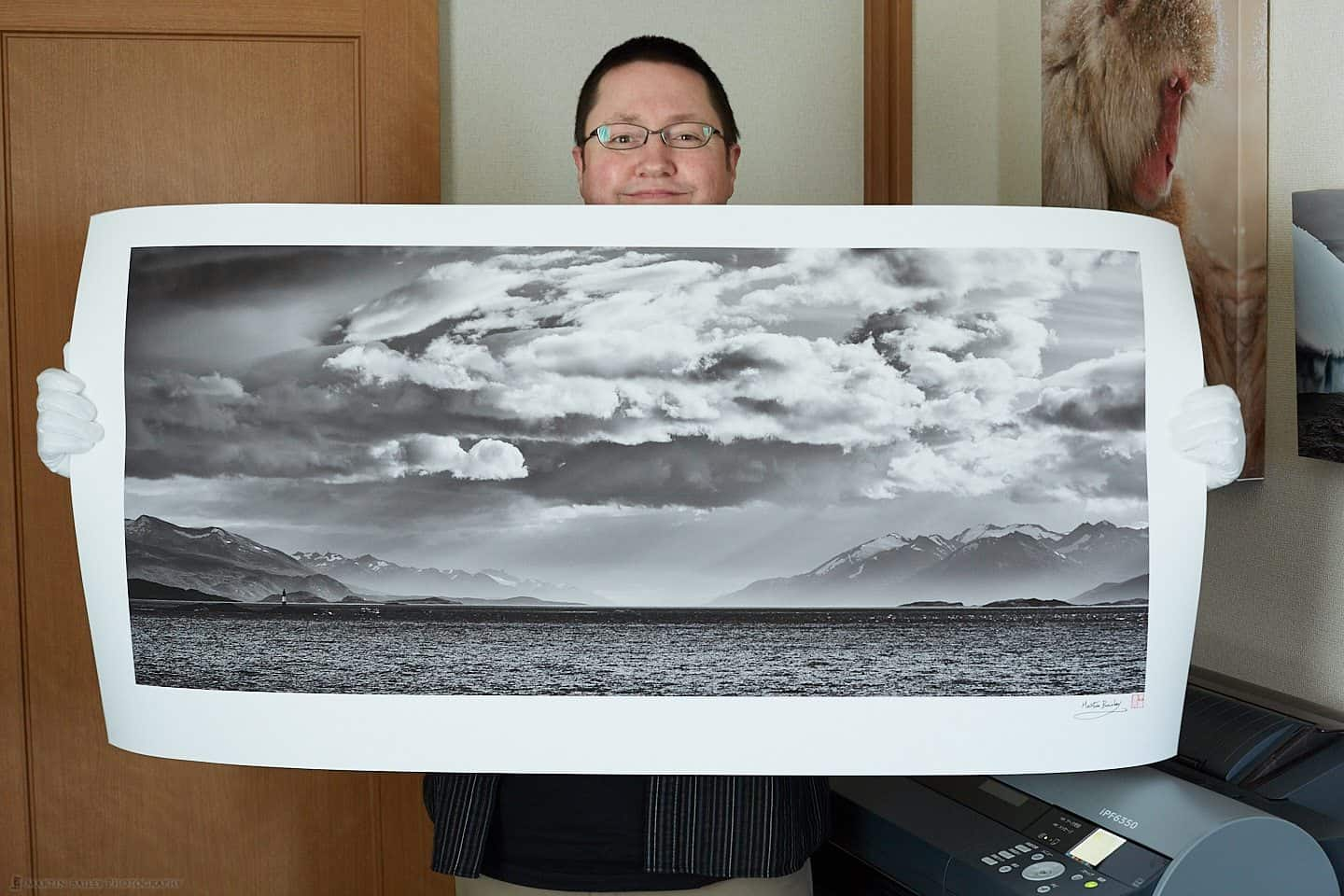 Martin with 2 x 4 Foot Print on Optica One