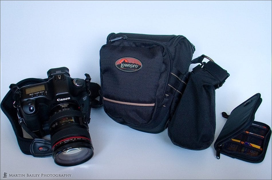Lowepro Toploader 65AW with Snap Top Pouch