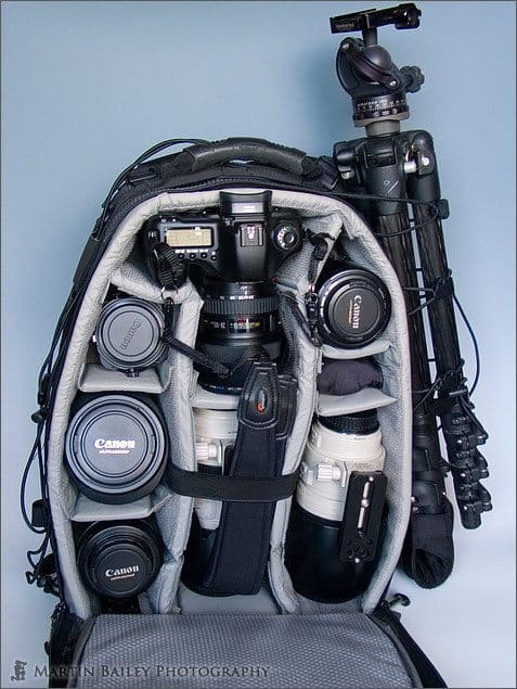Lowepro Nature Trekker AW II with Gear
