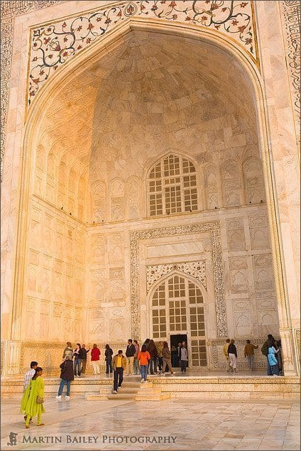 Taj Mahal Front Arch