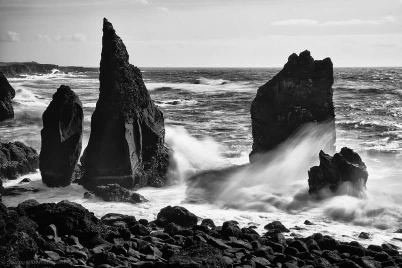 Rocks at Reykjanes Peninsula