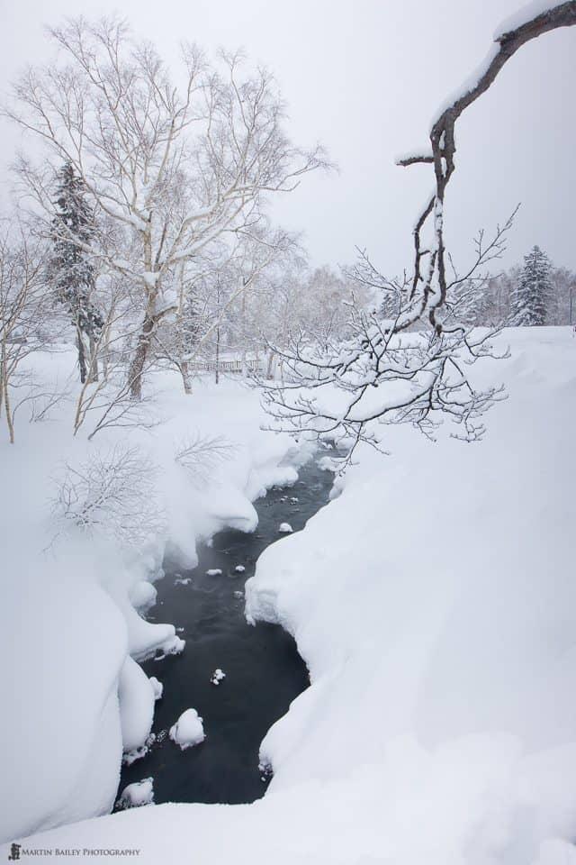 Winter Scene with Vari-ND - 1.6 seconds
