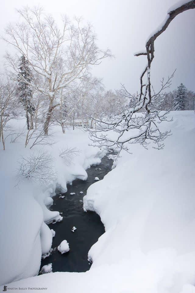 Winter Scene with Vari-ND - 4 seconds