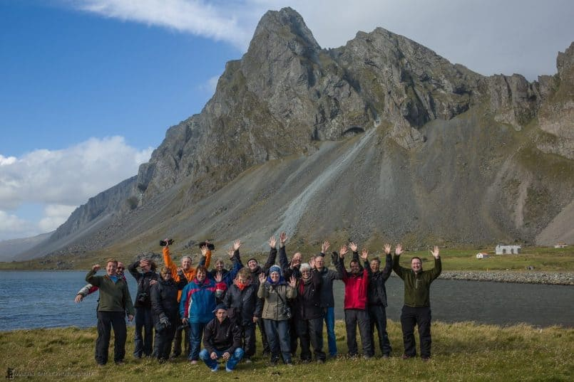 2013 Iceland Tour Group Photo