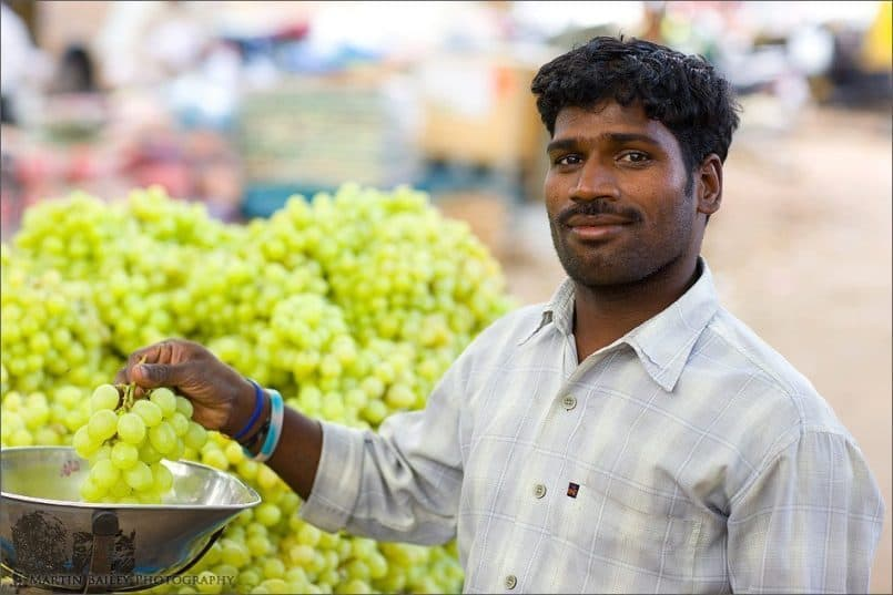 Grape Seller