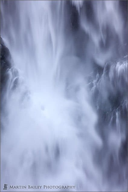 Kegon Falls Abstract