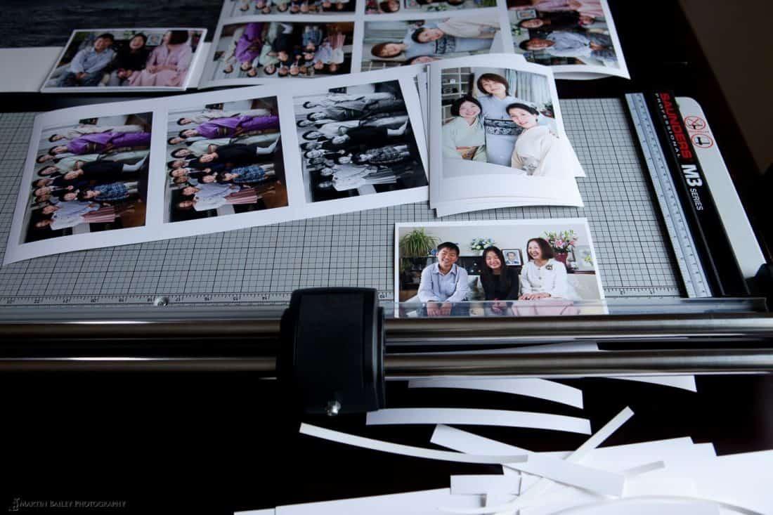 Trimming Prints