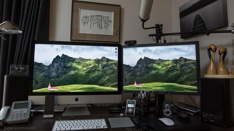 iMac to Eizo Comparison