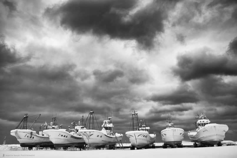 Wakkanai Fishing Boats