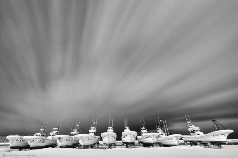 Soya Harbour Fishing Boats
