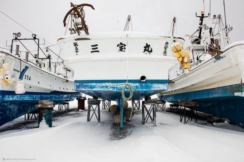 Fishing Boat - Sanpoumaru
