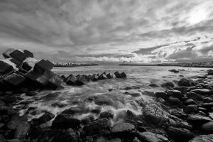 Rocky Beach and Tetrapods