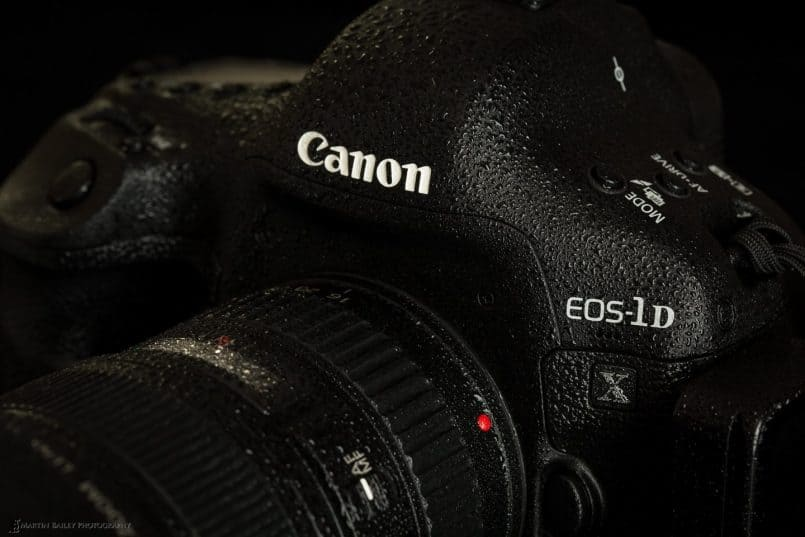 Condensation on Canon EOS 1D X