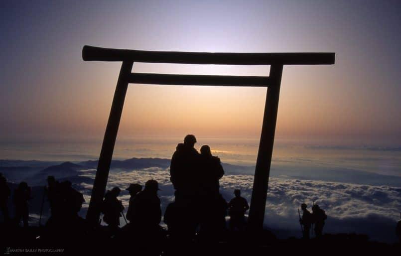 Mount Fuji Torii Hug