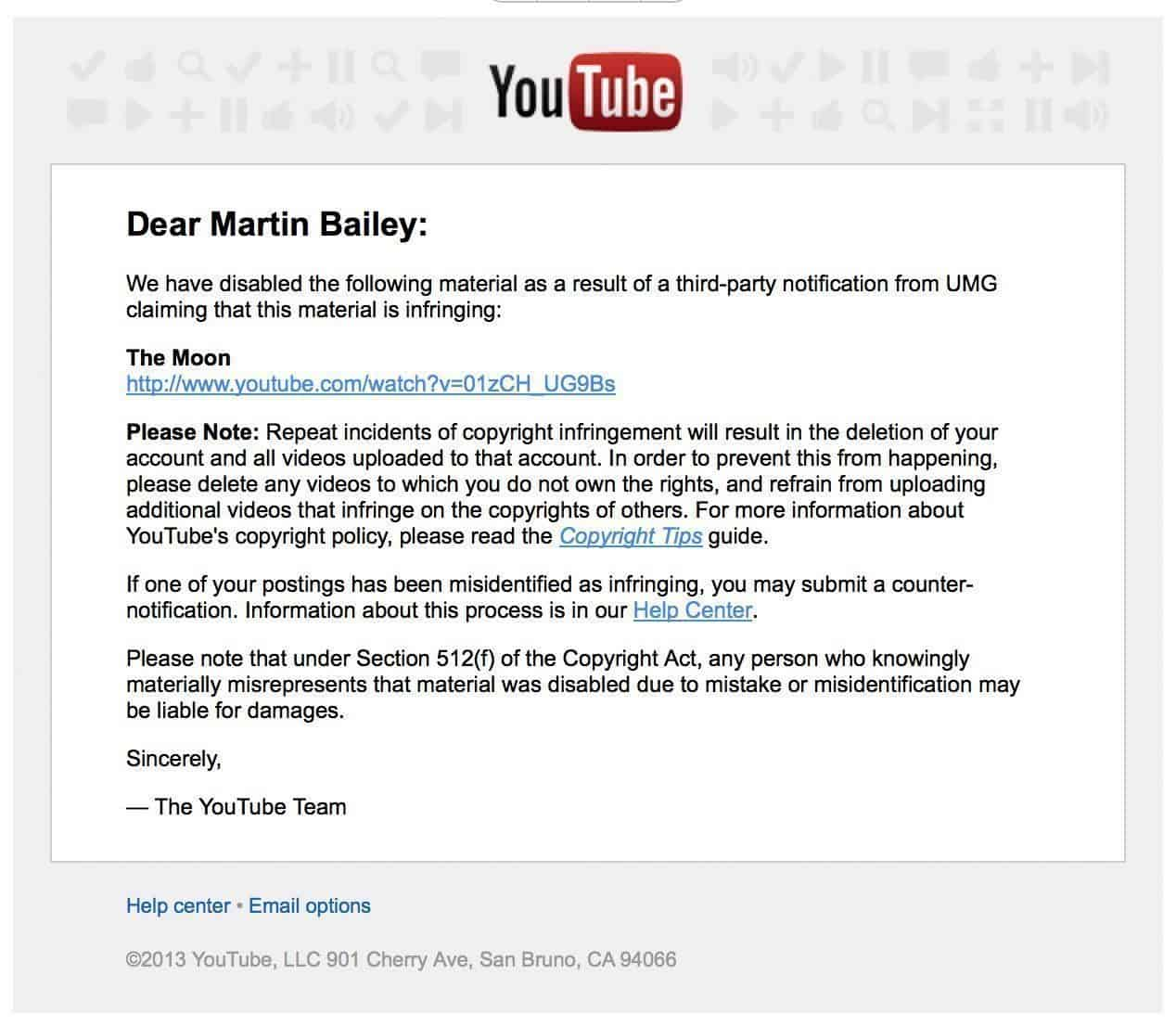 An Open Letter To Google Youtube From A Disappointed Disciple