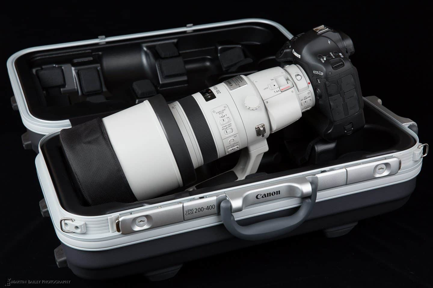 Canon EF 200-400mm F4 L Extender 1.4X Lens in its Case