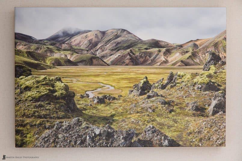 "Landmannalaugar 20x30"" Gallery Wrap"