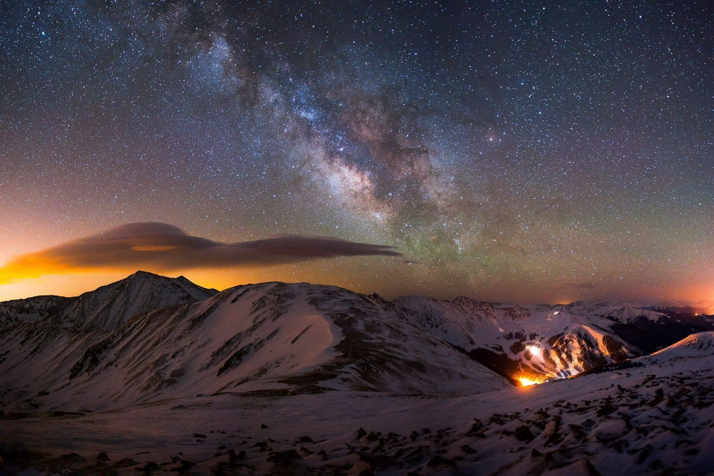 Cupid Mountain Milky Way