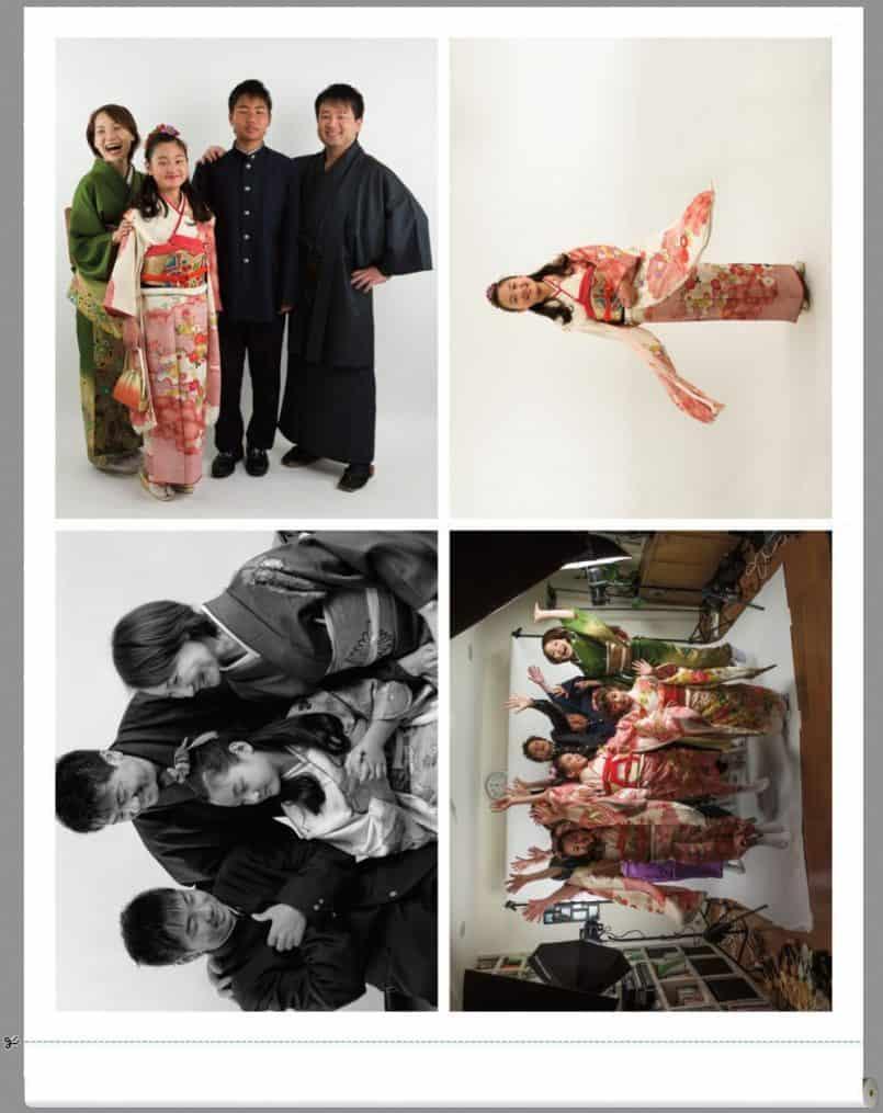 Four 8 x 10 Inch Prints on 17 Inch Media