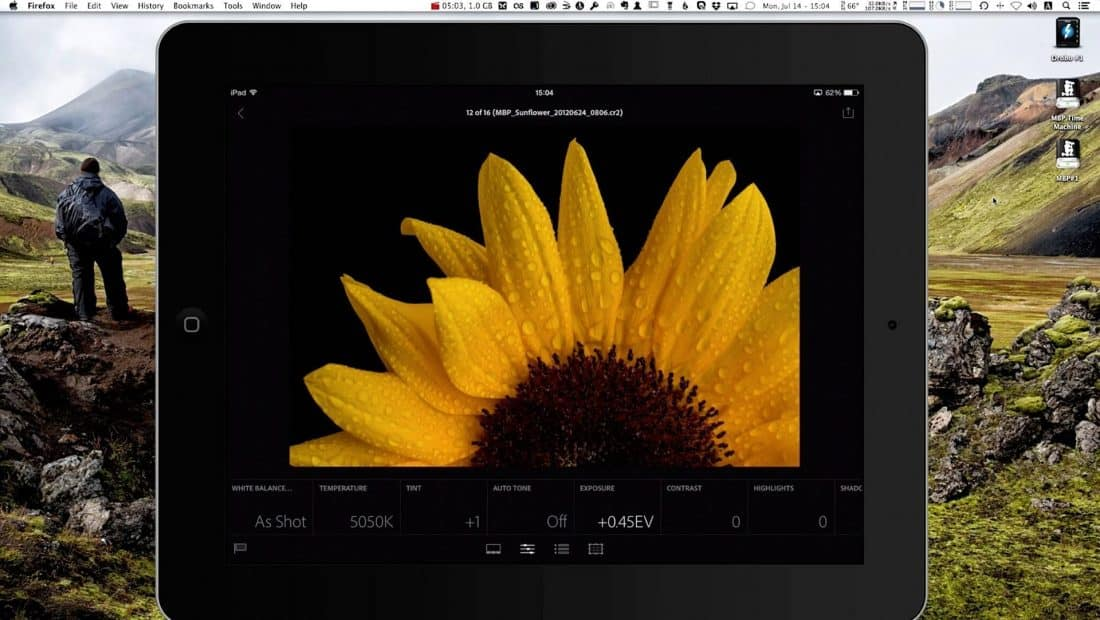 Editing Images in Lightroom Mobile