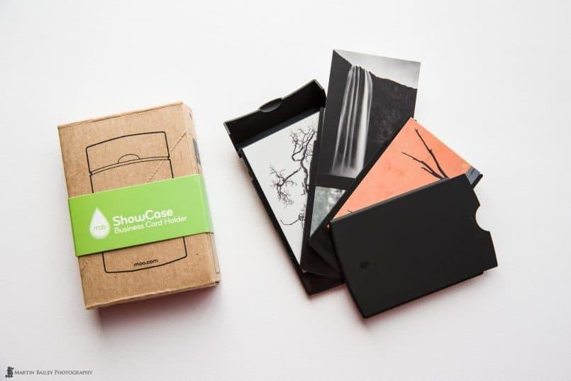 Showcase Business Card Holder