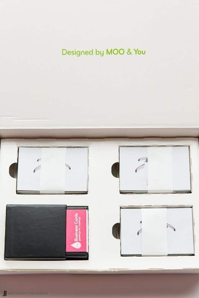 Moo Classic Business Cards Packaging