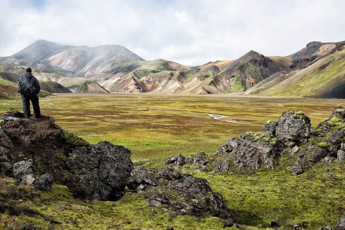 Martin in Landmannalaugar (Iceland)