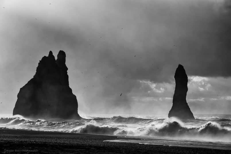 Vik Sea Stacks